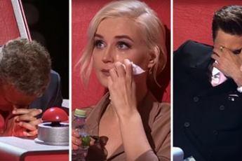 Спев песню про родителей, эти двое довели членов жюри до слёз. Плакал даже Григорий Лепс!