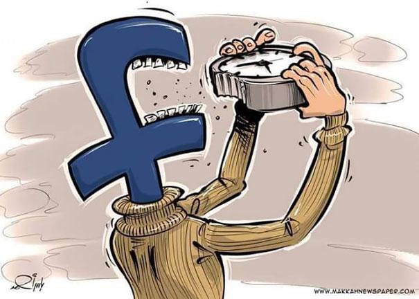 30 сокрушительных иллюстраций о нездоровой зависимости от Интернета. Пугающая картина...