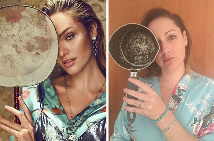 Вот что происходит, когда обычная женщина примеряет на себя образы звезд Инстаграма