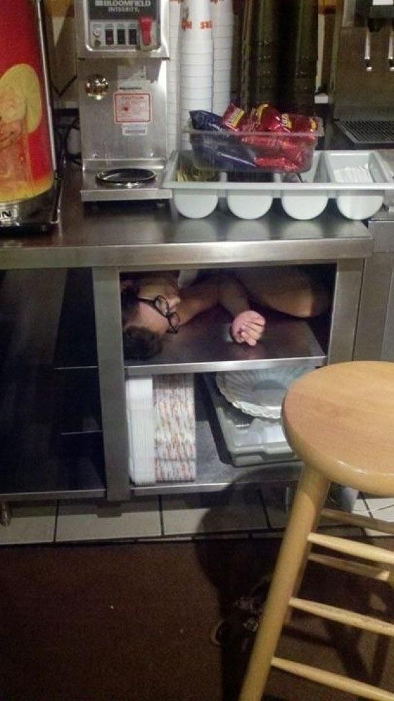 Фотографии о том, что могли сделать только пьяные люди