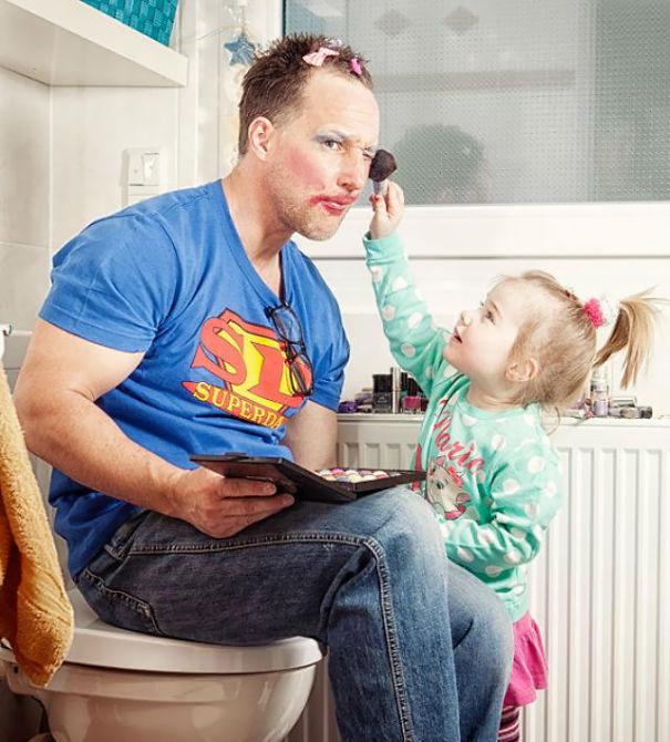 10+ самых заботливых отцов