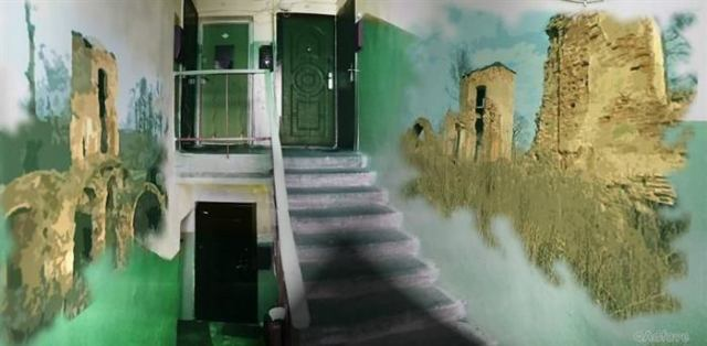 Жильцы дома решили, что хотят жить в красивом подъезде, и преобразили его до неузнаваемости