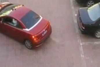 Во время парковки девушка отомстила наглому мужику и поквиталась, за всех обиженных девушек