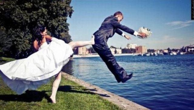 Невероятные и необычные свадебные фотографииНевероятные и необычные свадебные фотографии