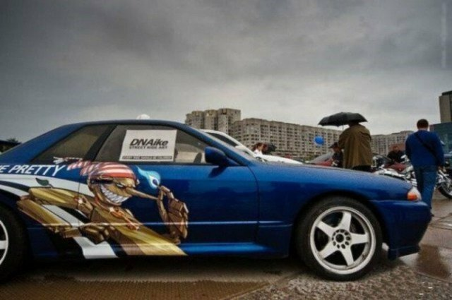 Примечательные машины которые можно встретить на улицах города