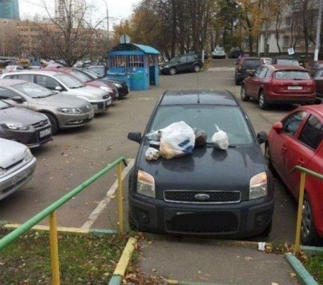 Примеры того, как никогда, слышите НИКОГДА! Не нужно парковаться!