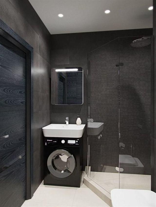 15 удачный решений для очень маленькой ванной комнаты