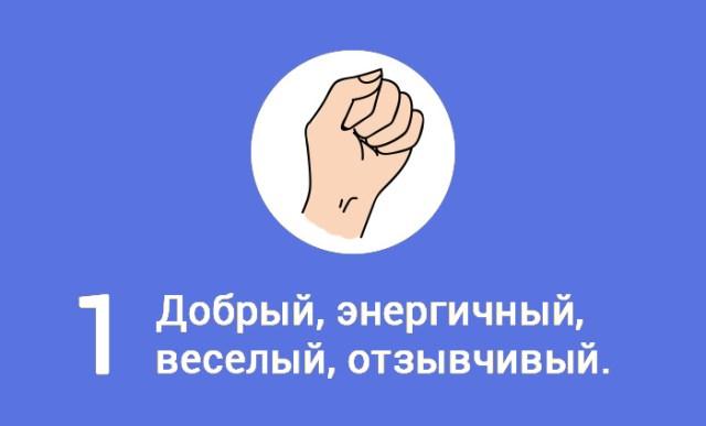 Узнай, что скрывает твой сжатый кулак: особенности характера