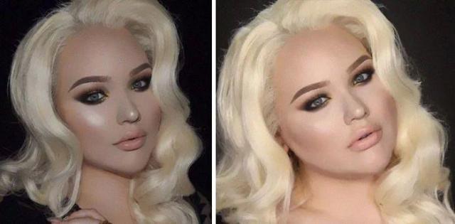 Инстаграм против реальности: снимки, разоблачающие реальные фигуры девушек