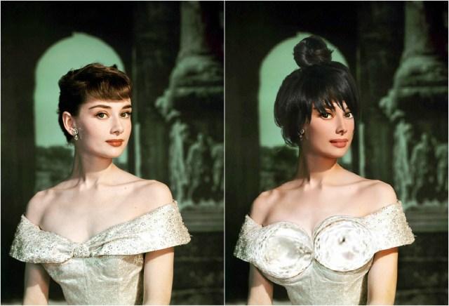 Как бы выглядели красотки XX века, если бы жили в наше время