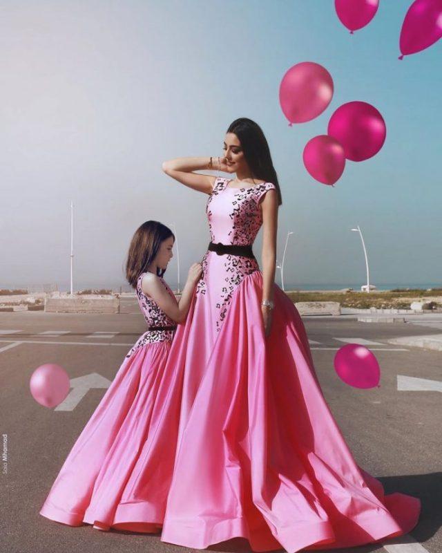 Волшебные наряды для мам и их дочерей! Роскошные идеи