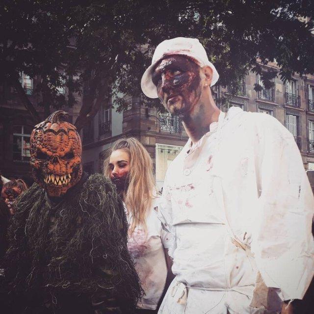 Как прошел фестиваль-шествие зомби во Франции