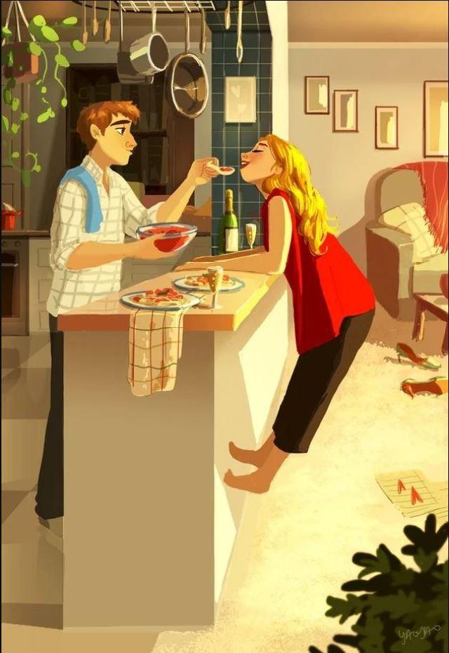 Забавные иллюстрации талантливой художницы, демонстрирующие реальные отношения интровертов