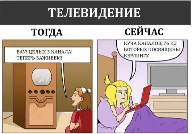 Забавные комиксы, которые отражают разницу между технологиями сейчас и раньше