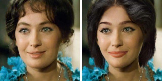 Как бы выглядели советские актрисы, если бы жили в наше время