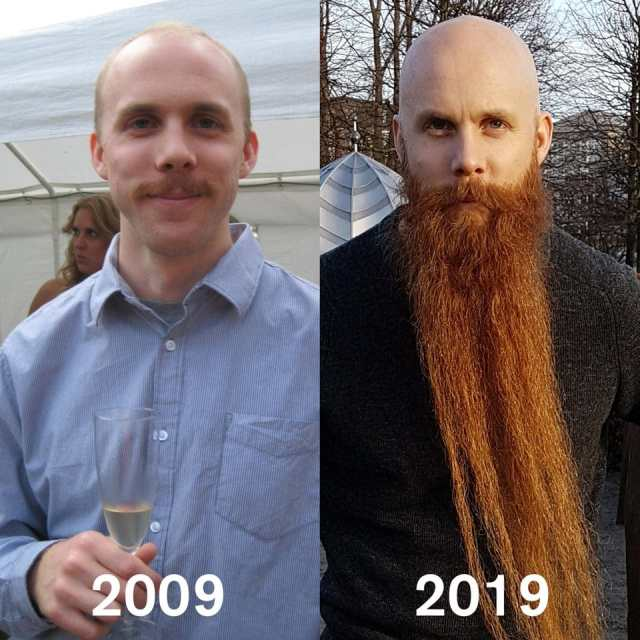 12 доказательств, что мужчина с бородой и без – это два разных человека