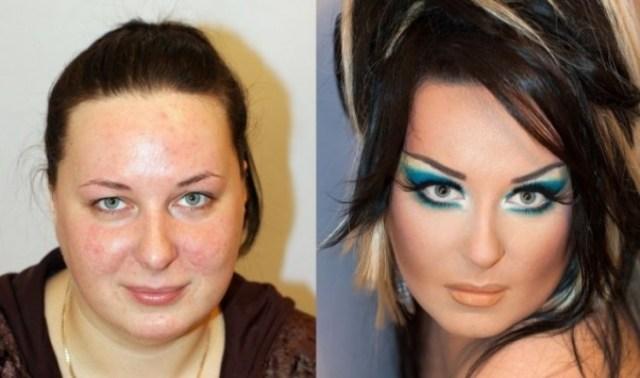 8 ярких примеров, как макияж может изменить лицо человека