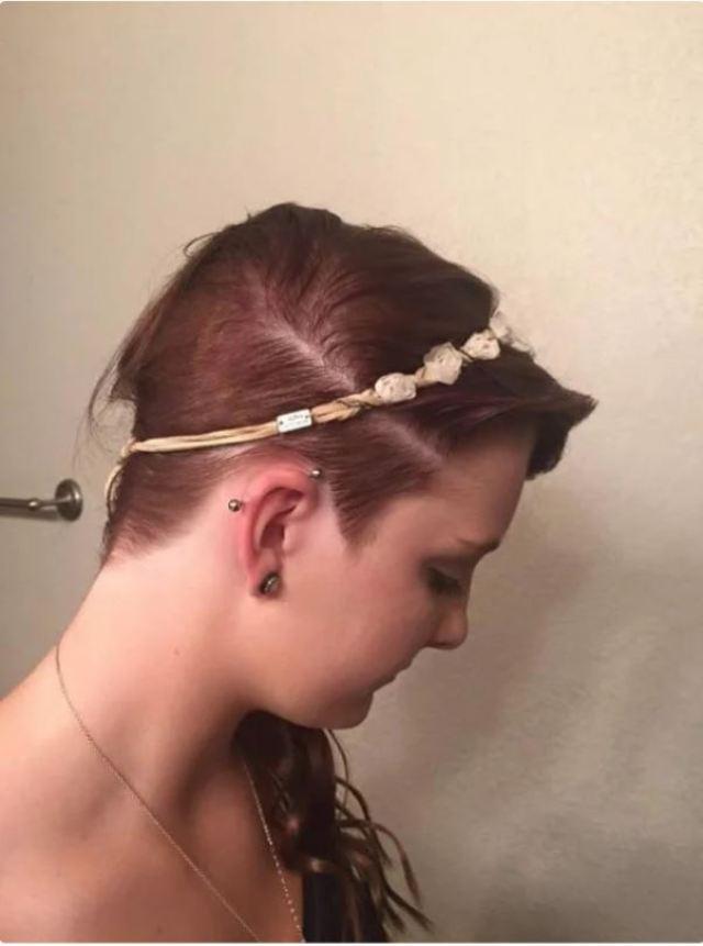 Одноклассники испортили волосы школьницы суперклеем, но стилист сделал модную стрижку, исправив ситуацию