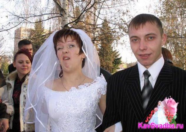 Не сердите фотографа: неудачные свадебные  фото
