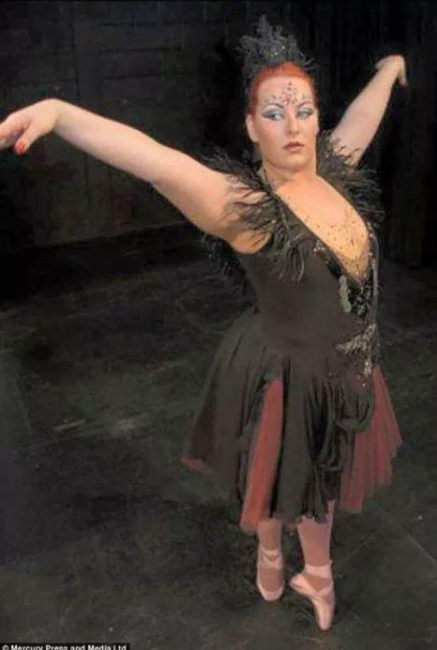 Балерина с 56-м размером, которая не сдалась на пути к своей мечте