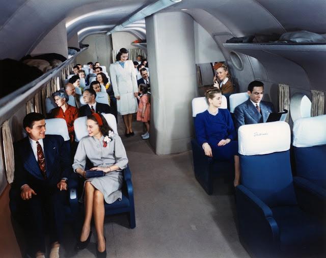 Фото о том, что 50 лет назад летать на самолетах было в пять раз удобнее