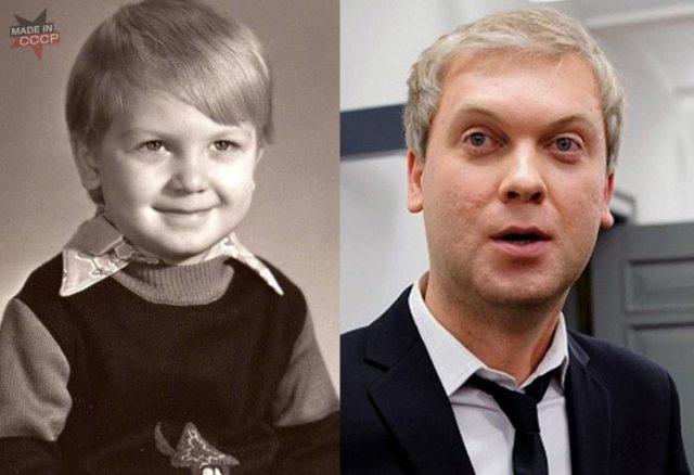 Как выглядели 15 известных юмористов в детстве и в юности