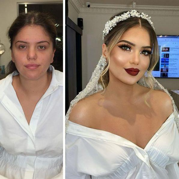 Они не узнали себя после. Невесты, которые попали в руки к профессиональному визажисту