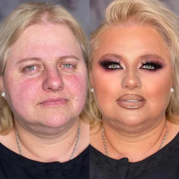 Мать родная не узнает. Лифтинг макияж превратил обычных простушек в красоток