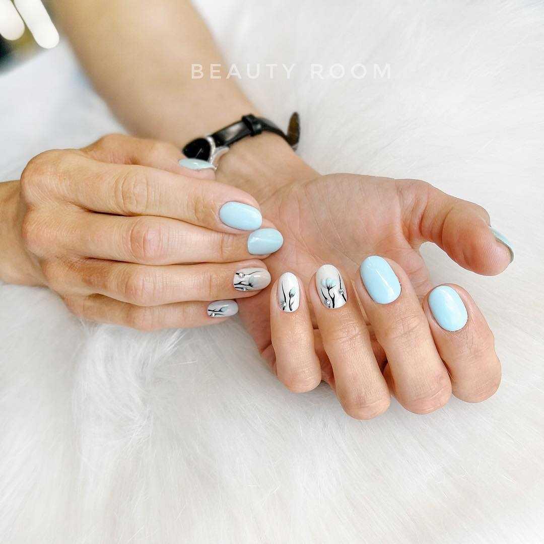 как красиво и четко сфотографировать дизайн ногтей древовидных