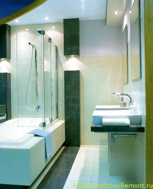 дизайн ванной комнаты с душевой кабиной фото 2019 современные идеи 1