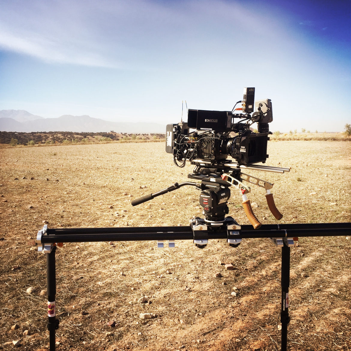 Camera track slider by - Prosup Professional Camera Support