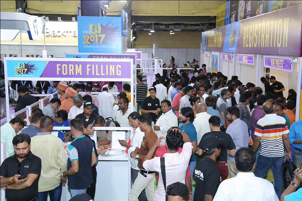 Broadcast India Show Mumbai