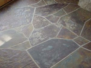 natural stone floors looking