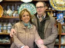 Mª Carmen y Pepe de Cerámicas Vicente Pascual