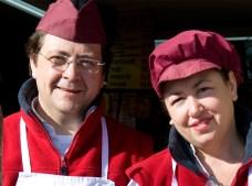 Vicente y Loli de la Carnicería Vicente Giner