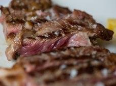 Detalle de la carne
