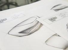 Los diseños del Music Box en boceto