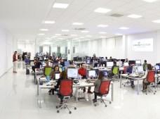 Planta de los departamentos de Diseño, Producto y Marketing