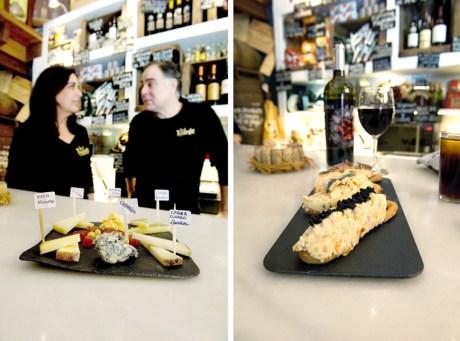 Quesos de Asturias y marinera, una opción acertada