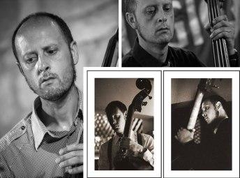 Andrés Lizón toca el contrabajo en varios grupos