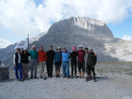'Ολυμπος, αποστολή στις κορυφες