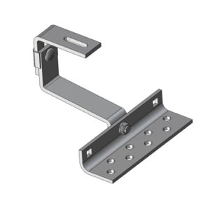 Adjustable Solar Panel Mounting Brackets Porcelain Tile Roof Hook - Vario