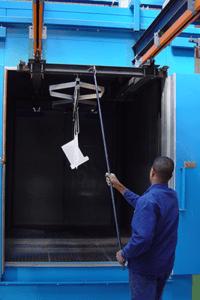 Instalación desengrase fosfatado