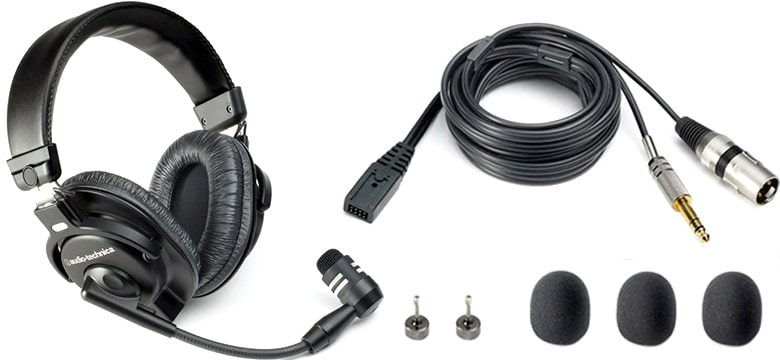 Audio-Technica BPHS1 Broadcast Stereo Headset best for recording audio