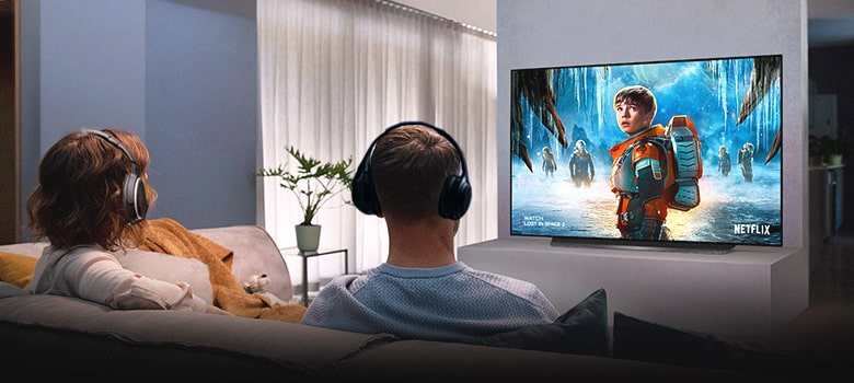 How do I connect my wireless headphones to my TV