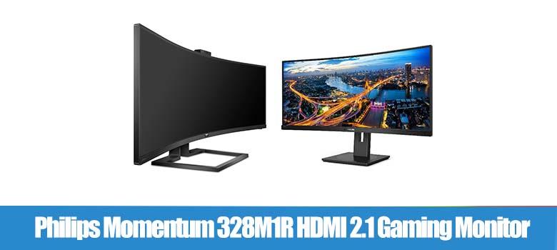 Philips Momentum 328M1R HDMI 2.1 Gaming Monitor