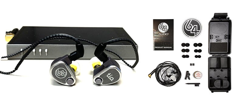 64 Audio U12t In-ear Monitor Headphones for Singers and Music Production