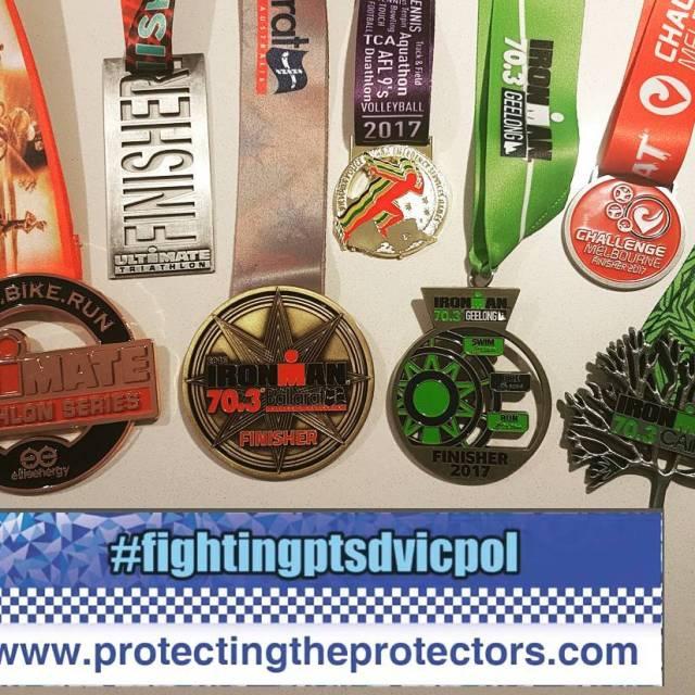 fightingptsdvicpol triathlon campaign update 1 x Olympic race 5 xhellip