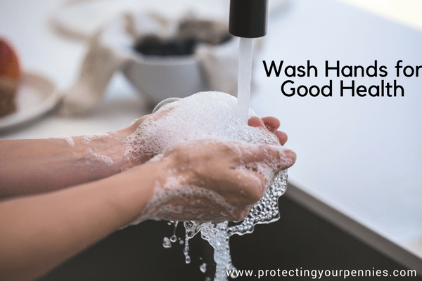 Wash hands for good health