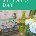 Easy Vignette for St. Pat's Day